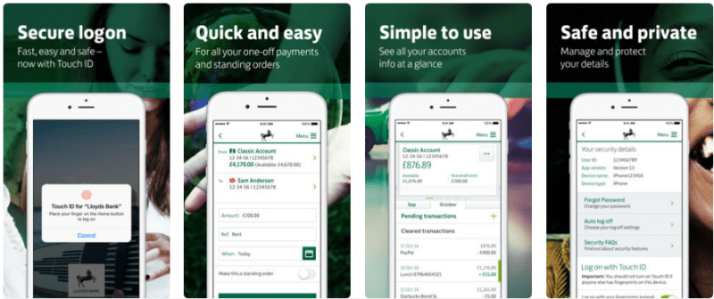 Lloyds Bank Mobile Banking app