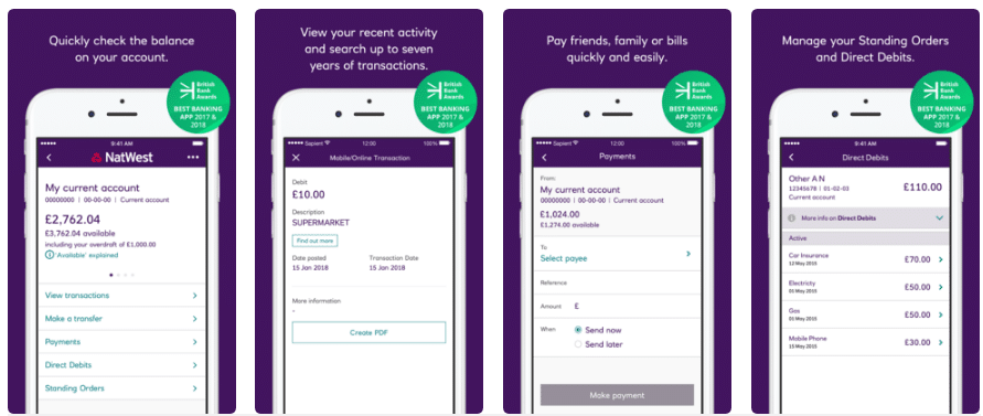 natwest mobile banking app