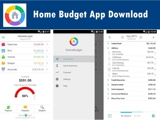 Download Home Budget App